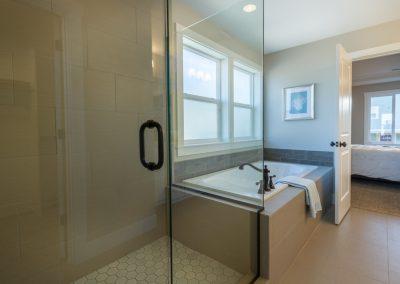 Soaking Tub + Shower